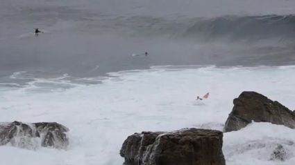 Serious Wipe-Out In Australia