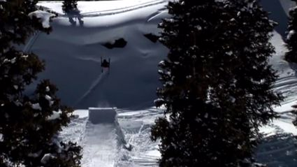 Epic Skiing Fails Attempting Huge Jump
