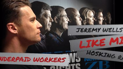 Jeremy Wells 'Like Mike' Hosking Rant - Underpaid Workers