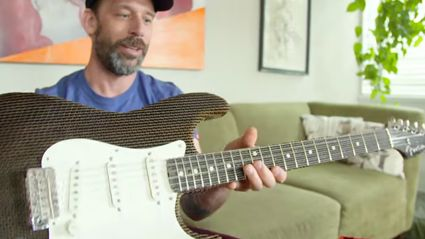 These Guys Made A Working Fender Stratocaster Out Of Cardboard