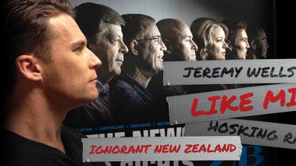 Jeremy Wells 'Like Mike' Hosking Rant - Ignorant New Zealand