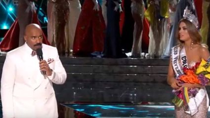 Host Announces Wrong Winner Of Miss Universe On Live TV