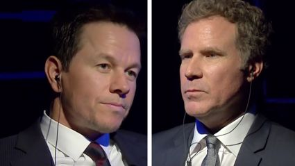 Watch Will Ferrell & Mark Wahlberg Insult Each Other