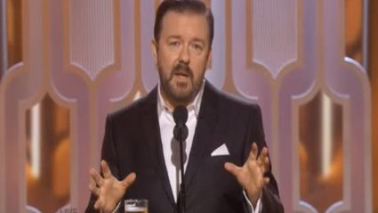 Ricky Gervais 2016 Golden Globes Opening Monologue