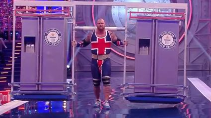 The Mountain From 'Game Of Thrones' Just Broke A Fridge Carrying World Record