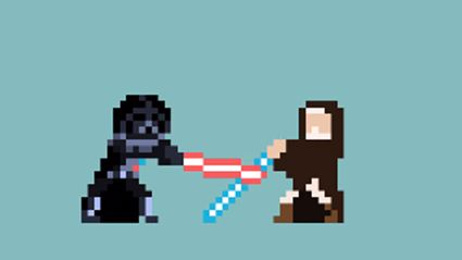 Star Wars - Deaths In 8bit
