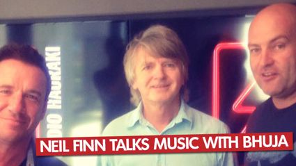Neil Finn With Bhuja