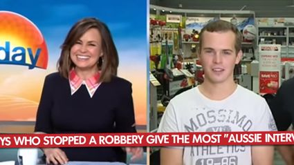 "Two Guys Who Stopped A Robbery Give The Most ""Aussie Interview Ever"""