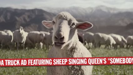 """New Honda Truck Ad Featuring Sheep Singing Queen's """"Somebody To Love"""""""