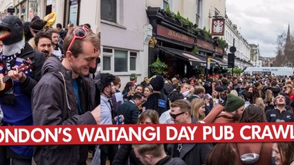London's Waitangi Day Pub Crawl