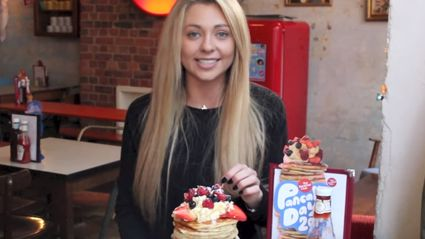 Watch This British Girl Crush 12 Pancakes In Under 12 Minutes