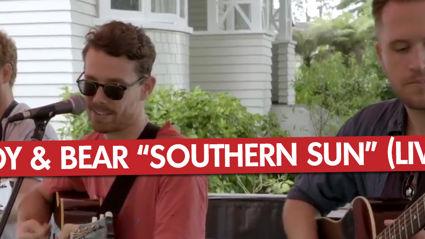 Boy & Bear - Southern Sun (Live)