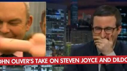 John Oliver's Take On Steven Joyce And Dildo-Gate