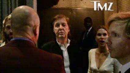 Beck, Taylor Hawkins & Paul McCartney Denied Entry To Tyga's Grammy After-Party