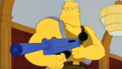 The Full McBain Movie Hidden Throughout Simpsons Episodes