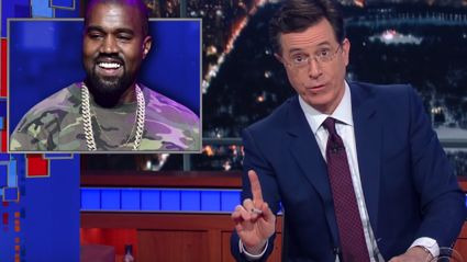 Stephen Colbert Offers Some Advice For Kanye To Get Out Of Debt