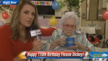 110-Year-Old Woman Gives Zero F**ks in Awkward Interview