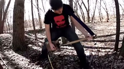 Guy Turns Shovel Into A Guitar And It Actually Sounds Pretty Good!