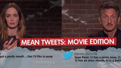 Mean Tweets: Movie Edition