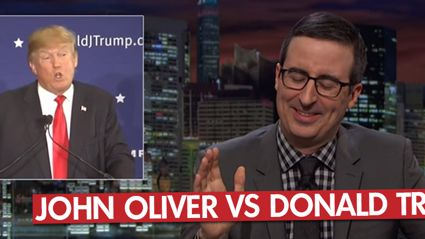 John Oliver  Vs Donald Trump On 'Last Week Tonight'