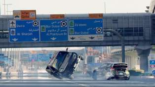 Ken Block Closes Down Dubai And Goes Stunt Driving Crazy!