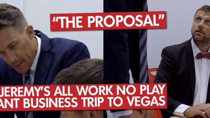"Matt & Jeremy's All Work No Play Important Business Trip To Vegas ""The Proposal"""