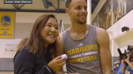 Lydia Ko Finds Out Steph Curry Is Awesome At Golf Too