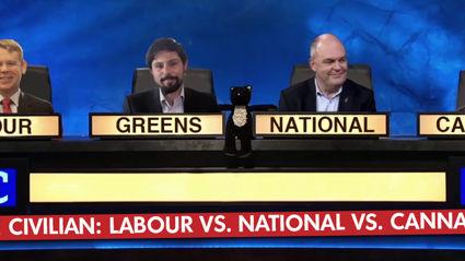 The Civilian - Labour vs. National vs. Cannabis