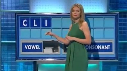 Another Awkward Word Reveal During British TV Game Show 'Countdown'