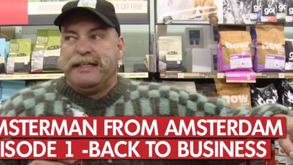 Hamsterman From Amsterdam: Ep 1 - Back To Business
