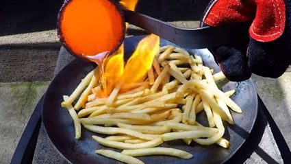 Molten Copper Vs McDonald's French Fries