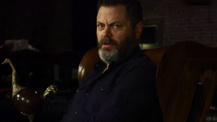 Nick Offerman Will Blow Your Mind With These Shower Thoughts