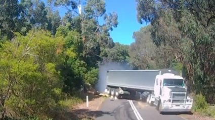 Aussie Truck Dash Cam Footage Will Make You Poo Your Pants