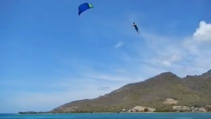 Here's A Video Of Kite Surfing Gone Wrong