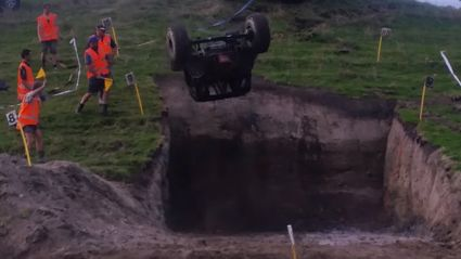 Whanganui 4x4 Driver Becomes First Kiwi To Complete 360 Degree Flip