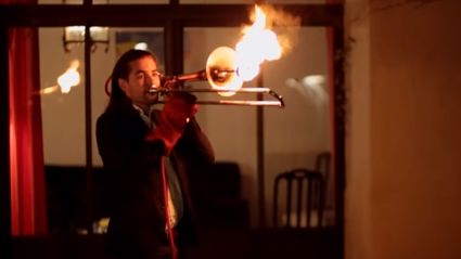 "Introducing The ""Pyro-Trombone"""