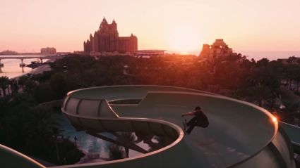 Watch These Skaters Shredding An Empty Waterpark Park In Dubai