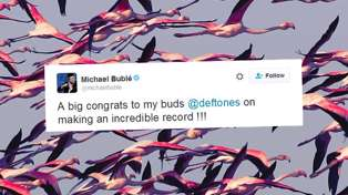 Michael Buble Is A Massive Deftones Fan
