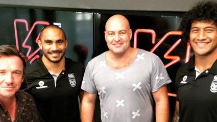 Bhuja Interviews Thomas Leuluai & James Gavet From The NZ Warriors