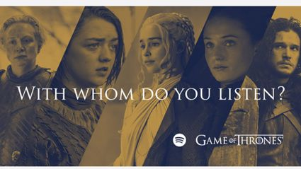 Which 'Game Of Thrones' Character Your Spotify Music Makes You