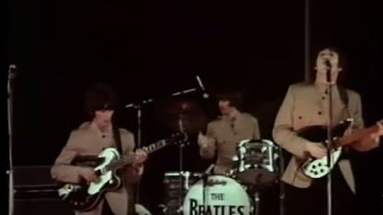 """Smack My Bitch Up"" Performed By The Beatles"