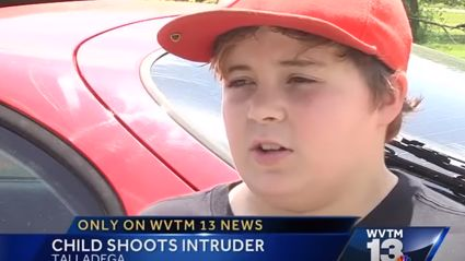 11-Year-Old Kid Shoots Intruder And Then Mocks Him On News Interview