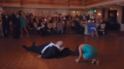 Probably The Worst Way To Enter A Wedding Reception EVER!