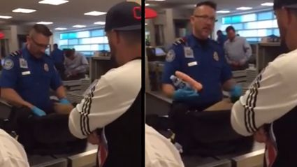 Bachelor's Airport Security Prank
