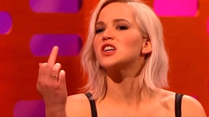 "Jennifer Lawrence's Message For Donald Trump - ""Hey, Trump. F*ck You!"""