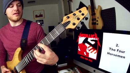 Watch This Guy Thrash Every Metallica Song On Guitar In 4 Minutes