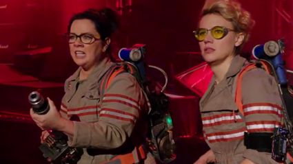 Watch The New Trailer For The 'Ghostbusters' Reboot