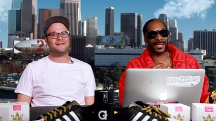 Watch Seth Rogen & Snoop Dogg Get Wasted And Talk About 'Bad Neighbours 2'