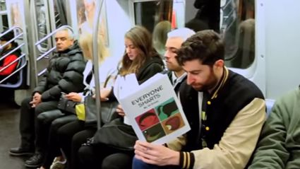 Reading Fake Books On The Subway - Part 2