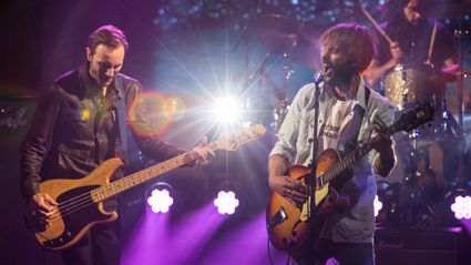 Band Of Horses - Casual Party (Live On The Late Show)